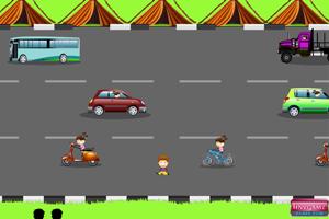 《小孩过马路》游戏画面1