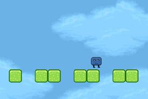 《奔驰的蓝方块》游戏画面1
