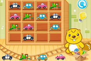 《贝嘟嘟的小汽车》游戏画面1