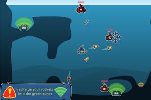 《小潜艇》游戏画面1
