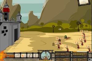 《打字守城》游戏画面1