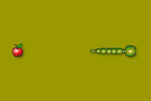 《贪吃蛇》游戏画面1