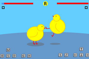 《小鸡打架》游戏画面1