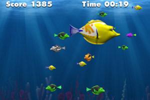 《海底鱼吃鱼》游戏画面1