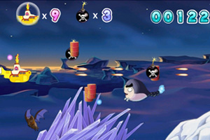 《空中潜水艇无敌版》游戏画面1