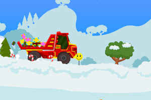 《圣诞大卡车2》游戏画面1