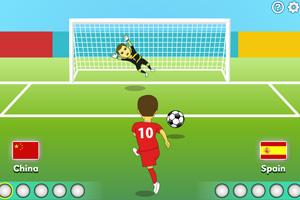 《中国队勇夺世界杯》游戏画面1
