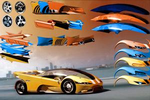 《组装概念跑车》游戏画面1