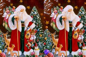 《圣诞老人找茬》游戏画面1
