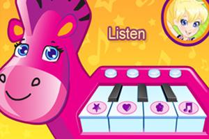 《波莉的小马钢琴》游戏画面1