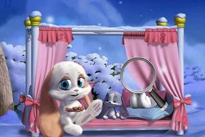 《小兔子找数字》游戏画面1