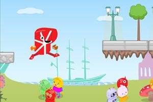 《为奥运赛跑》游戏画面1