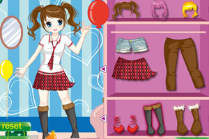 《甜蜜女孩的约会》游戏画面1