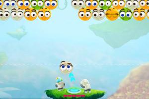 《西瓜炸弹泡泡龙》游戏画面1