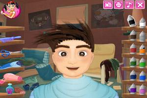 《疯狂的发型》游戏画面1
