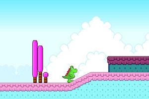 《恐龙冒险》游戏画面1