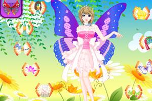 《美丽蝴蝶女孩》游戏画面1