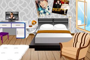 《贾斯汀的卧室》游戏画面1