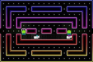 《彩虹迷宫吃豆豆》截图1