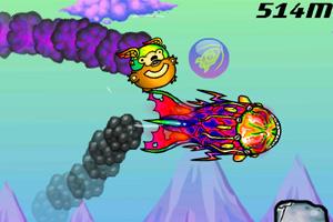 《飞天防弹熊》游戏画面1