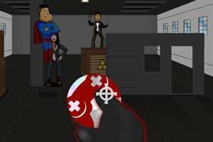 《超级英雄出击》游戏画面1