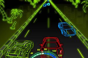 《霓虹赛车》游戏画面1
