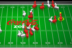 《桌上橄榄球》游戏画面1
