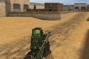 《CS沙漠地图》游戏画面1