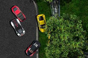 《2600马力赛车》游戏画面1