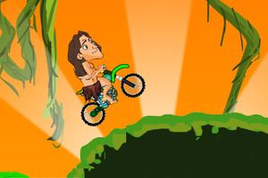 《人猿泰山自行车》游戏画面1
