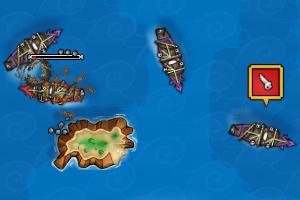 《海上生死战》游戏画面1