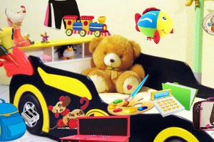 《赛车卧室》游戏画面1