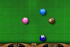 《彩球益智碰》游戏画面1