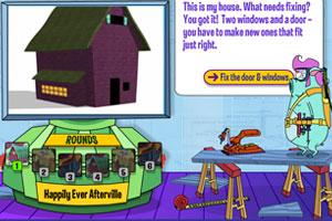 《小猪修房子》游戏画面1