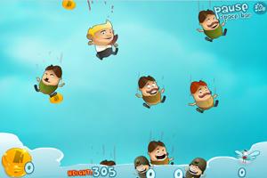 《空中下降》游戏画面1