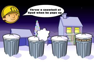 《巴布打雪仗》游戏画面1