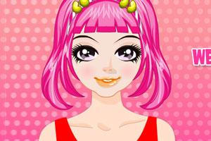 《可爱发型设计》游戏画面1