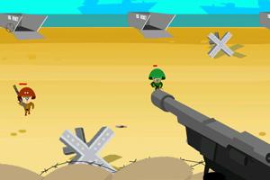 《沙滩防守》游戏画面1
