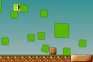 《小绿块新冒险》游戏画面1