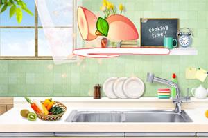 《厨房削水果》游戏画面1