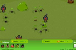 《昆虫攻防战修改版》游戏画面1