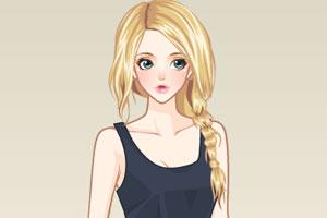 《美女的时装》游戏画面1
