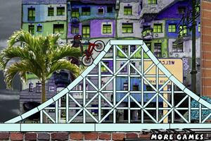 《超级火柴人自行车》游戏画面1