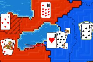 《扑克牌战争》游戏画面1