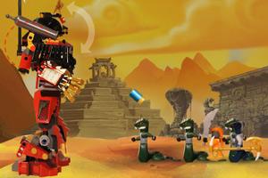 《乐高忍者机器人》游戏画面1