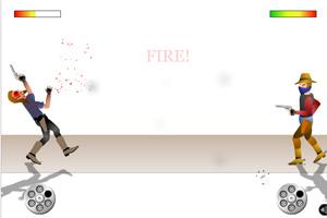 《枪手对决变态版》游戏画面1