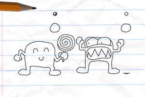 《铅笔画小人3》游戏画面1