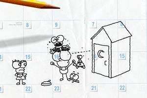 《铅笔画小人6》游戏画面1