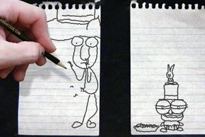 《铅笔画小人7》游戏画面1