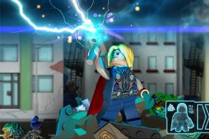 《乐高复仇者联盟之雷神》游戏画面1